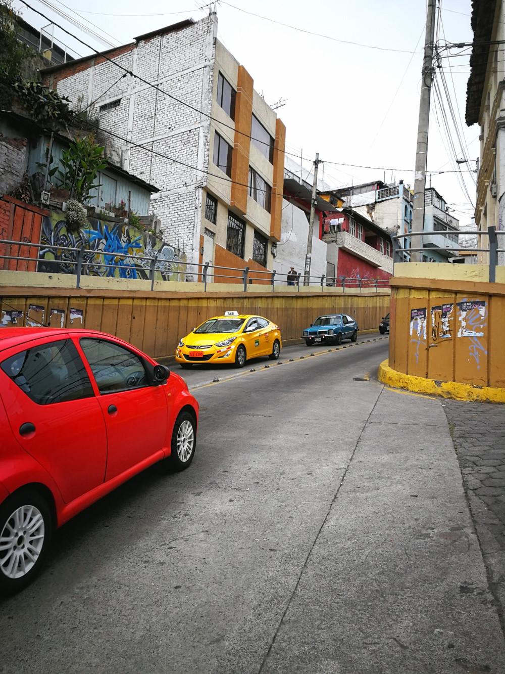 Sortie chaotique d'Ambato, Equateur