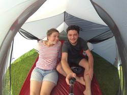 Mafate sous la tente