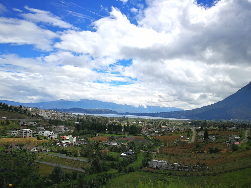 Lac San Pablo, Equateur