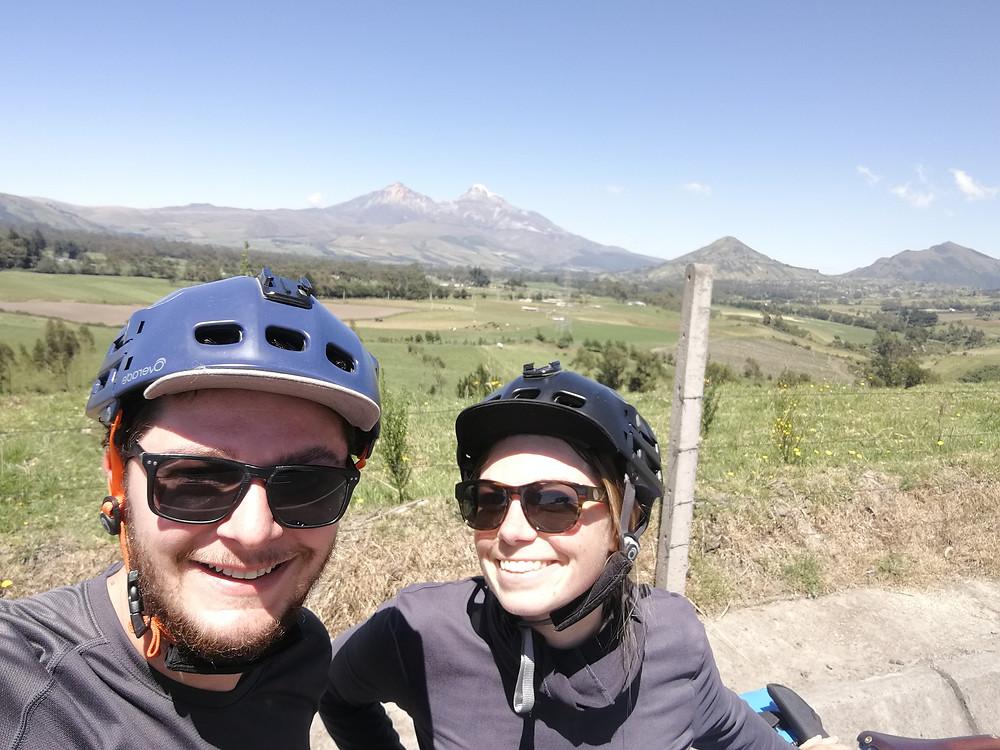 Cyclotourisme, Equateur, Route des volcans