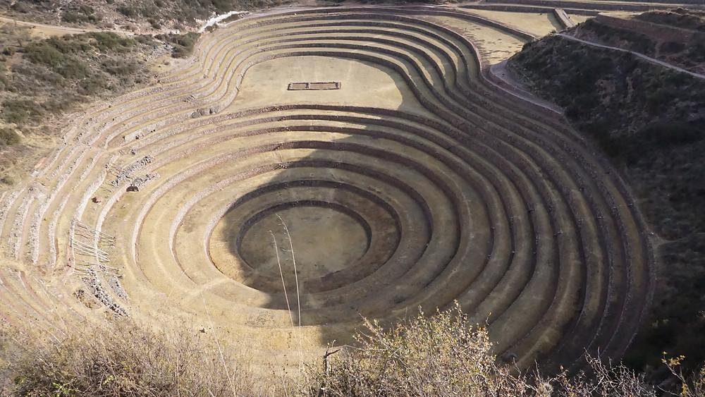 Moray, les cercles concentriques qui servaient de centre de recherche agricole
