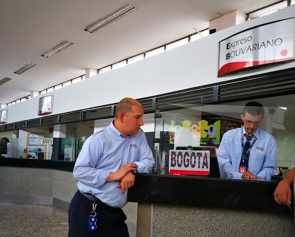 Expreso Bolivariano, une autre entreprise de bus toute pourrie, Colombie