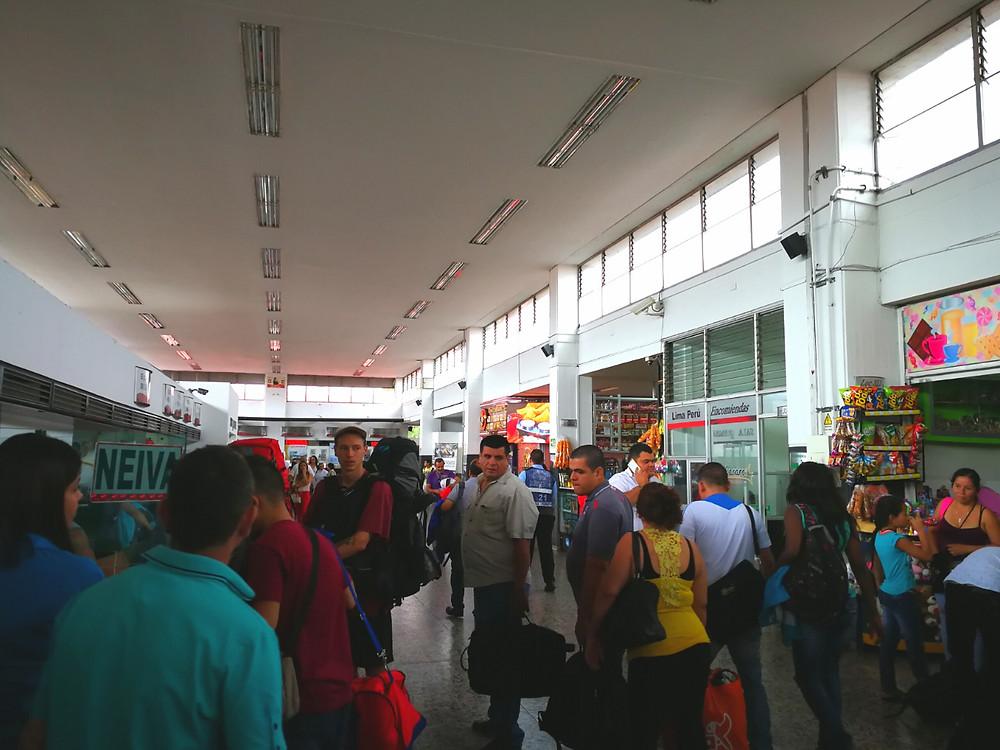 Gare de bus à Armenia, Colombie