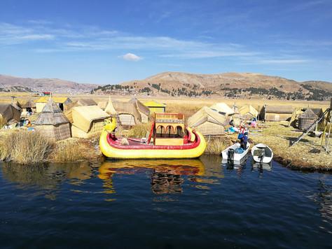 Puno et la frontière Bolivienne