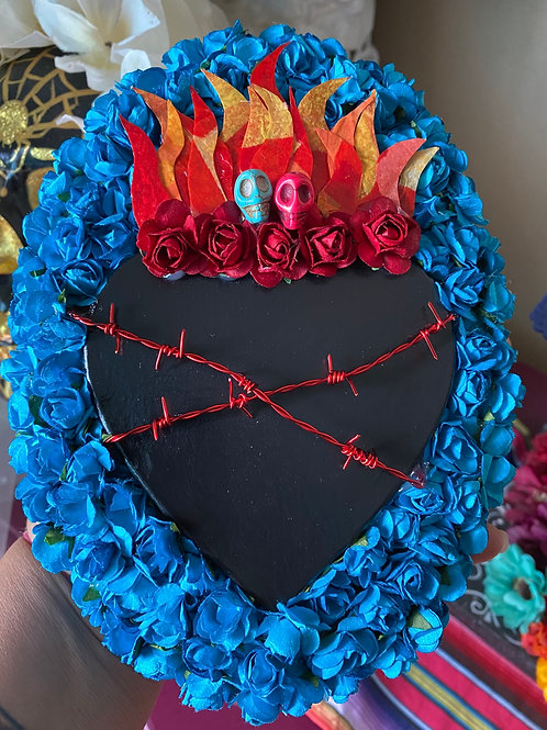 Paper Mache Sacred Heart