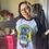 Thumbnail: Bride of Frankenstein Baseball T-Shirt