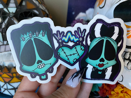 The Frankies Stickers