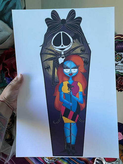 Jack and Sally Print
