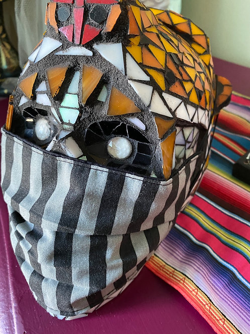 Black and Gray Mask