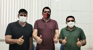 COLUNA DO PESALI INFORMA: Adailtinho e Alberto serão companheiros de chapa
