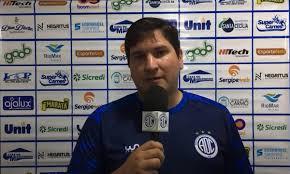 Matheus Costa lamenta segunda derrota do Confiança na Série B