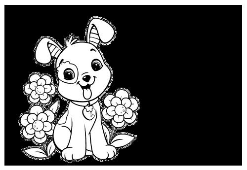 hondje met bloem.png
