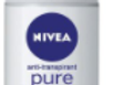 Nivéa déodorant bille femme pure invisible 50ml