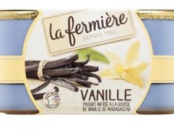 Yaourts à la vanille