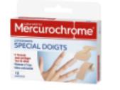 Mercurochrome Pansements doigt, 12 unités