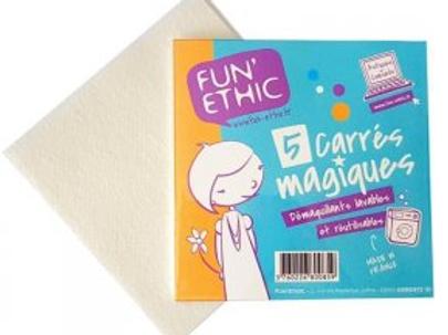 Fun Ethic carrés magiques x5
