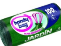Handy bag sacs poubelle x10 jardin 100l
