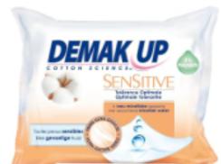 Demak'up lingettes démaquillantes sensitive peau sensible x23