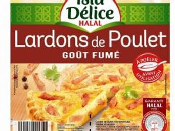 Isla délice lardon poulet gout fumé 2 x 100 g