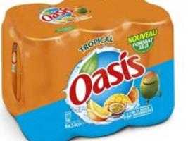 Oasis tropical boite slim 6x33cl