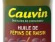 Cauvin huile de pépins de raisin 50cl