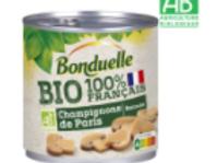 Bonduelle champignons émincés bio 100% francais