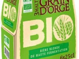 6x25cl bière blonde Bio 6.8%vol