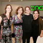 פתיחת תערוכת זום 2019  עם מירה לפידות אוצרת ראשית לאמניות ואיה מירון אוצרת לאמנות ישראלית, במוזיאון ישראל