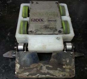 micro maloney combat robot riobotz wedge