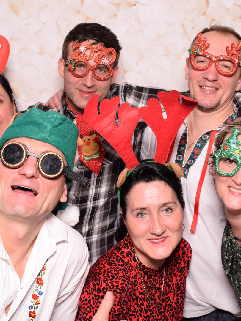 fotokútik a fotobox na vianočný večierok