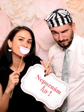 zábava na svadbe, fotokutik