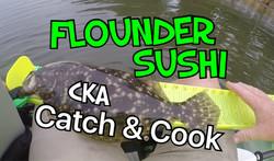 flounder sushi