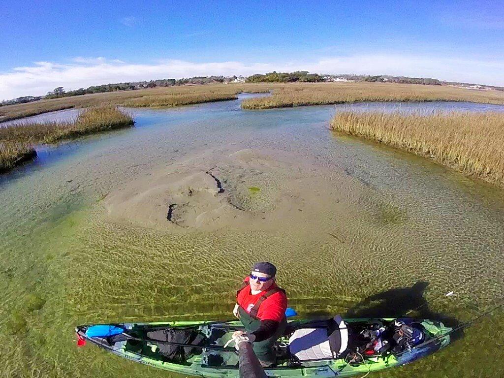 Kayak Fishing Trip