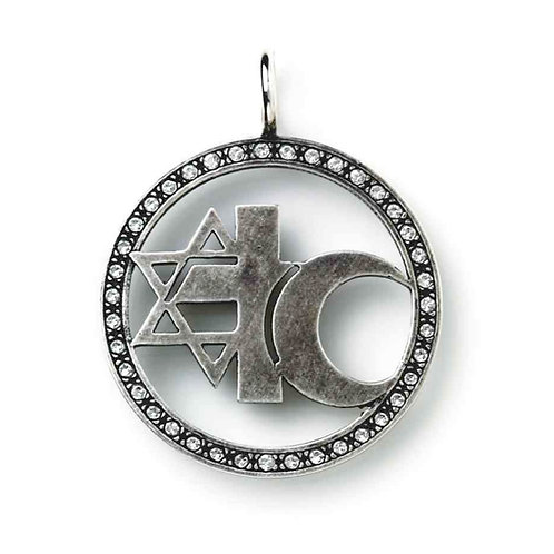 3er-Zeichen, Sterling Silber oxidiert