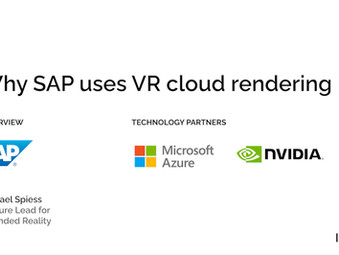 Innoactive Portal delivers VR cloud streaming with Nvidia, Microsoft Azure and SAP