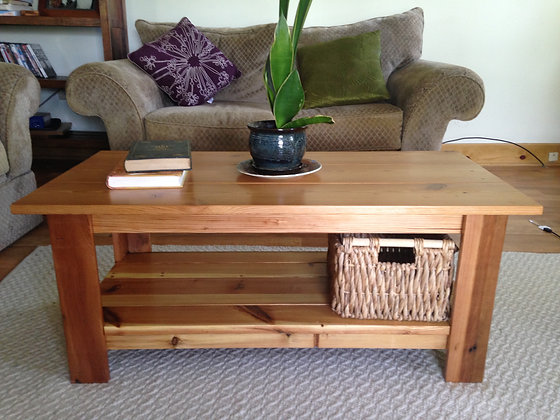 The Colombian ~Reclaimed Heart Pine Coffee Table
