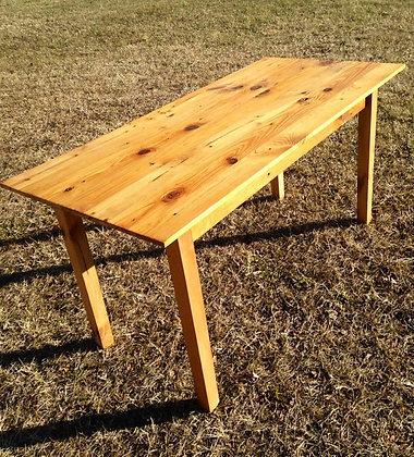 Reclaimed Pine Farm House Table
