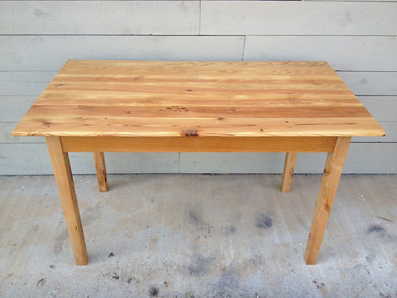 Reclaimed Pine Farm House Table