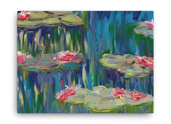 """Water Lily"" 00.6 Canvas"