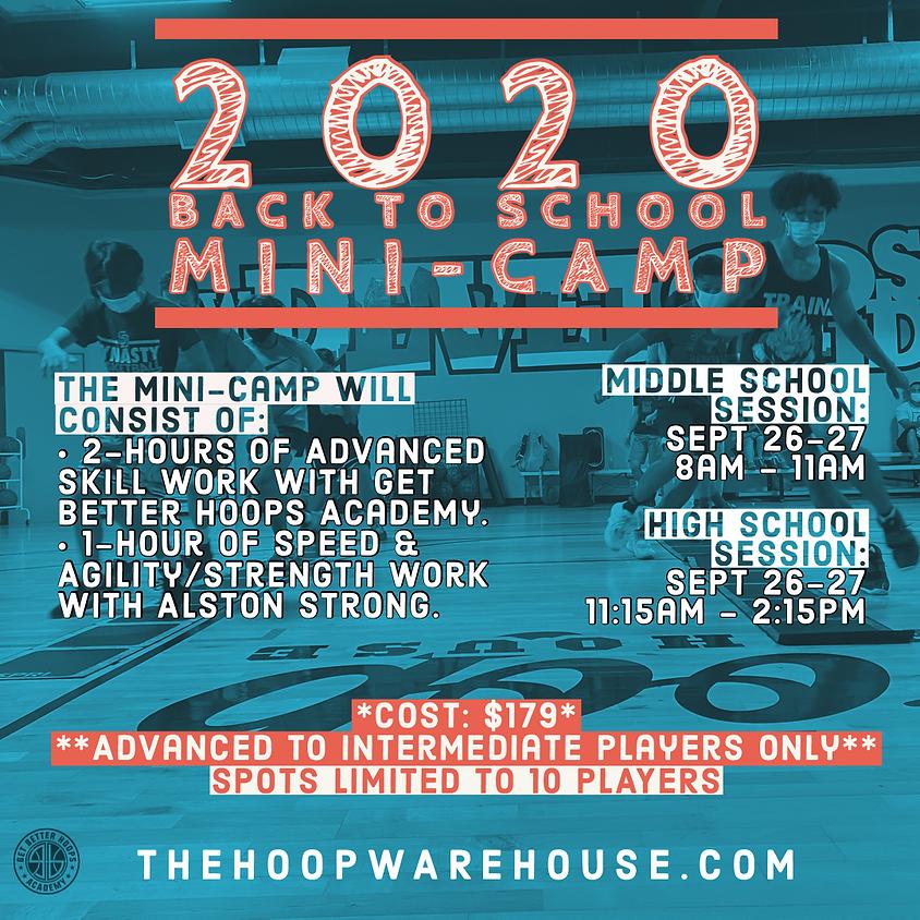 2020 Back to School Mini-Camp