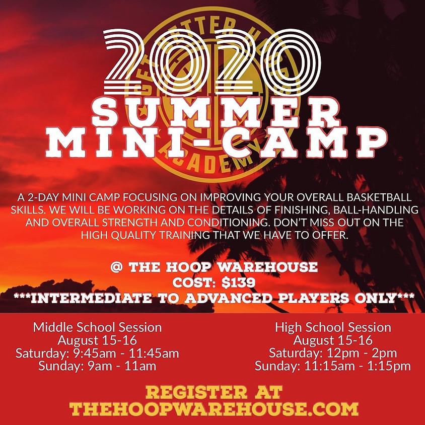 2020 Summer Mini-Camp
