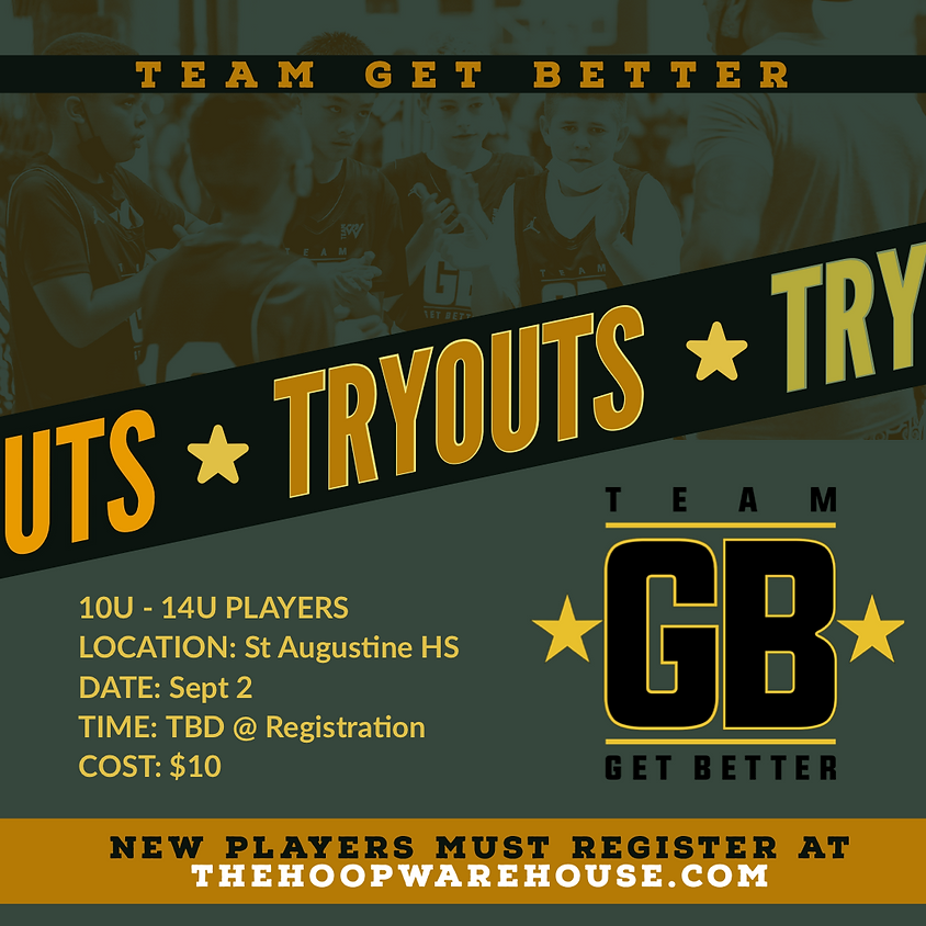 Team Get Better FALL Tryouts
