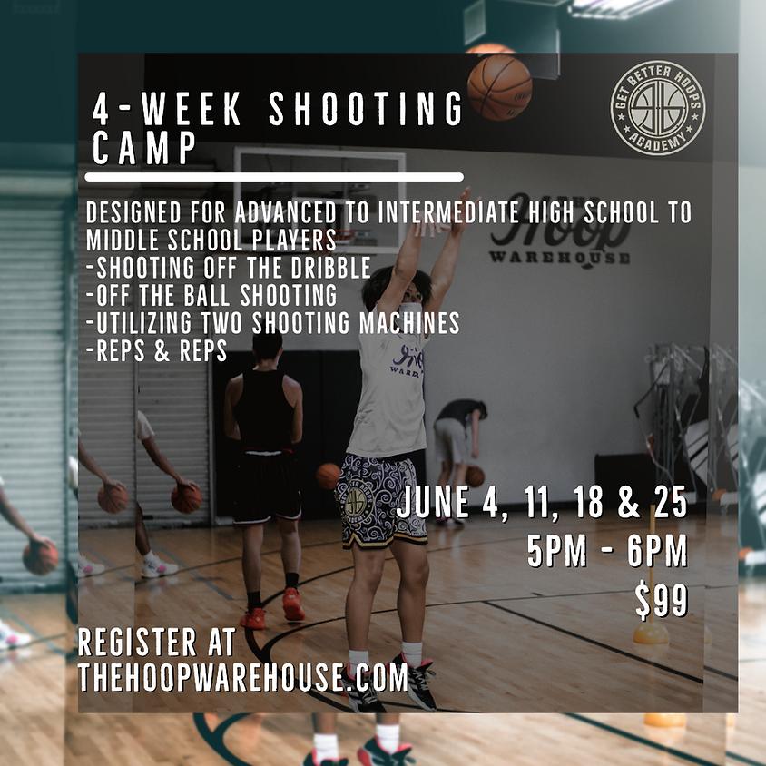 Get Better Hoops Academy 4-Week Shooting Camp