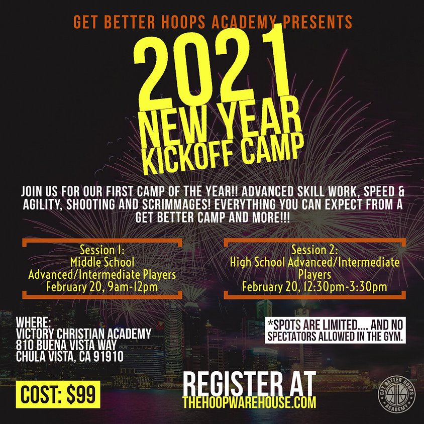 2021 New Year Kick-Off Camp
