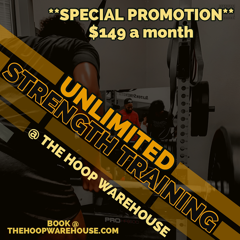 Unlimited Strength Training Sessions