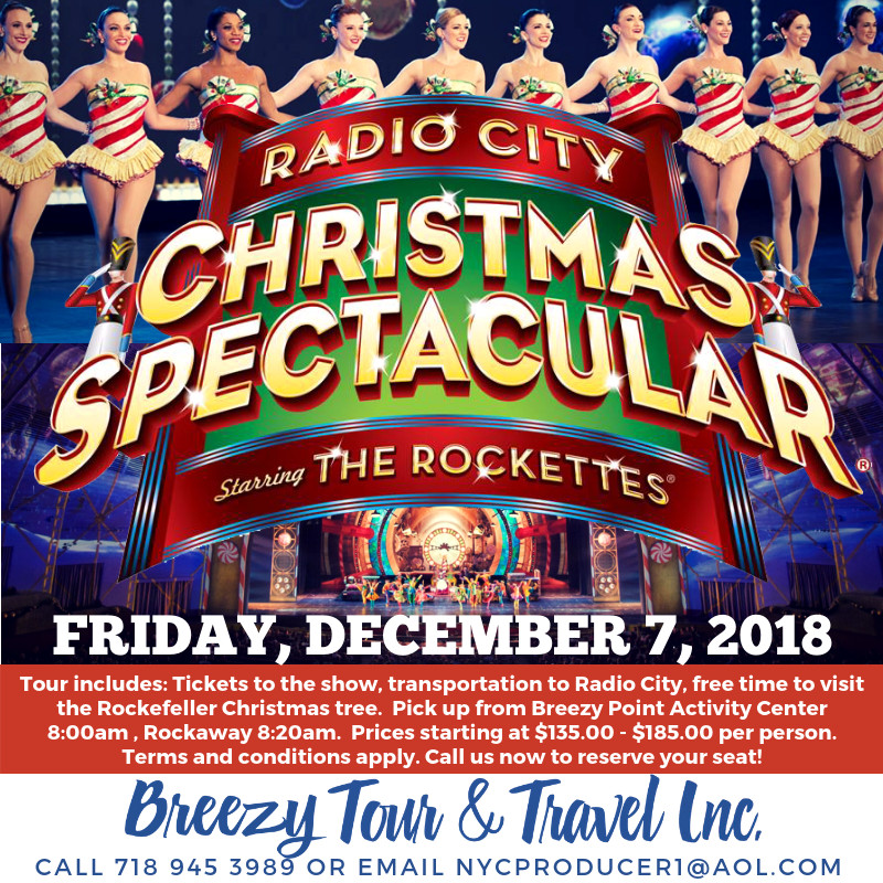 Radio City Christmas Spectacular 2018 Click to sign-up!