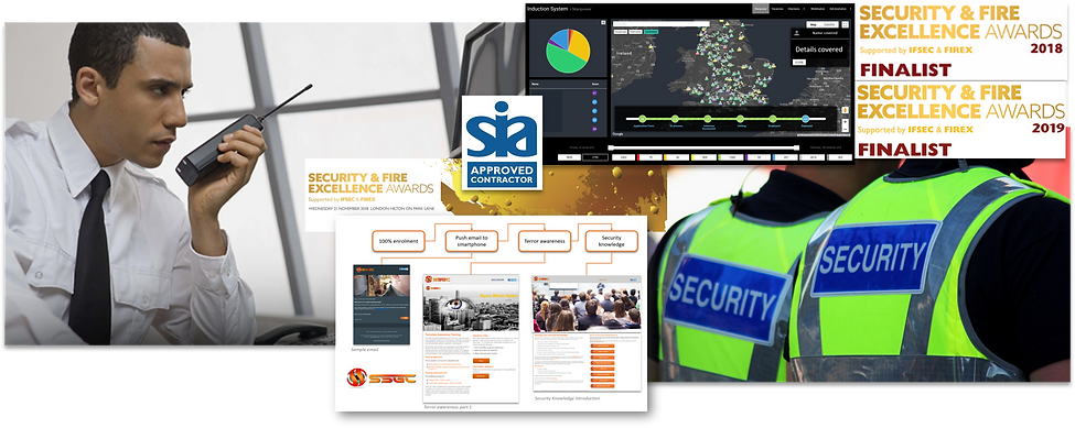 Security Guarding Service Header Picture