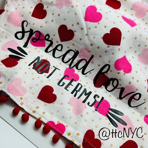 Spread Love Not Germ Kitchen Bath Towel (Style A)