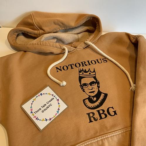Notorious RBG Ruth Bader Ginsberg Hoodie