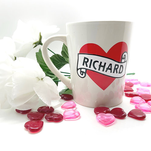 Personalized Valentine's Day Mug